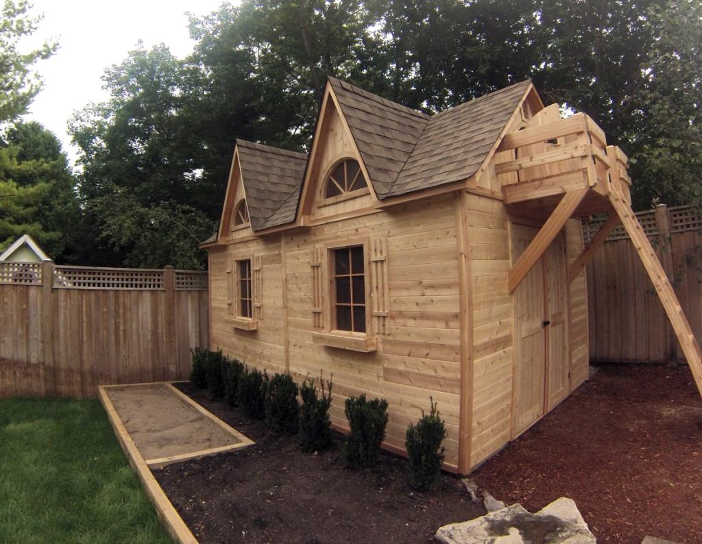 Garden Sheds Cedar Wood Structures