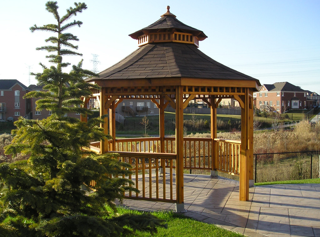 Gazebos And Pavilions Cedar Wood Structures