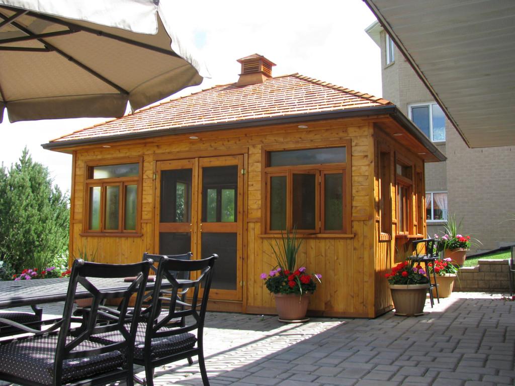 Studios And Garages Cedar Wood Structures