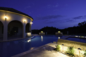 custom pool cabana