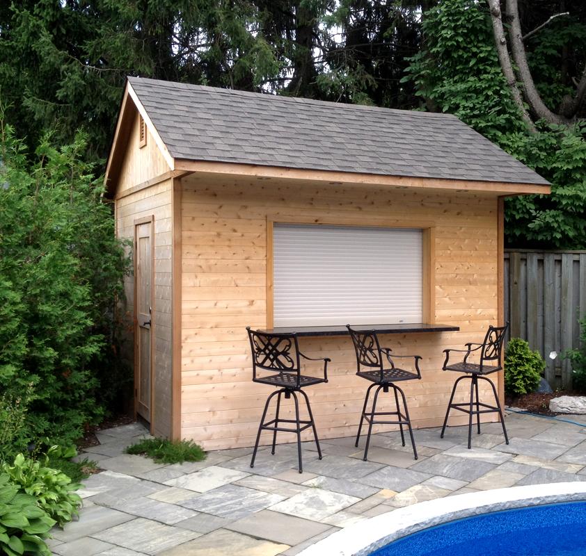 Custom Pool Cabanas, Pool House