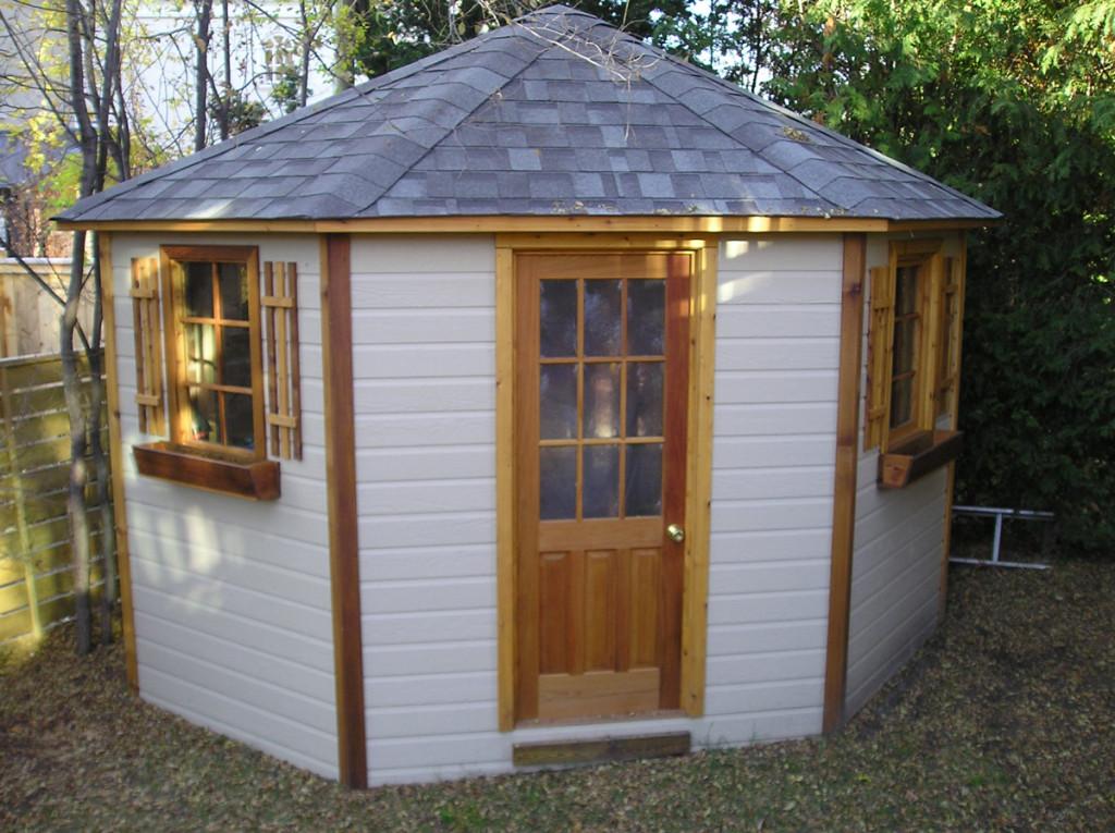 Garden Sheds - Cedar Wood Structures