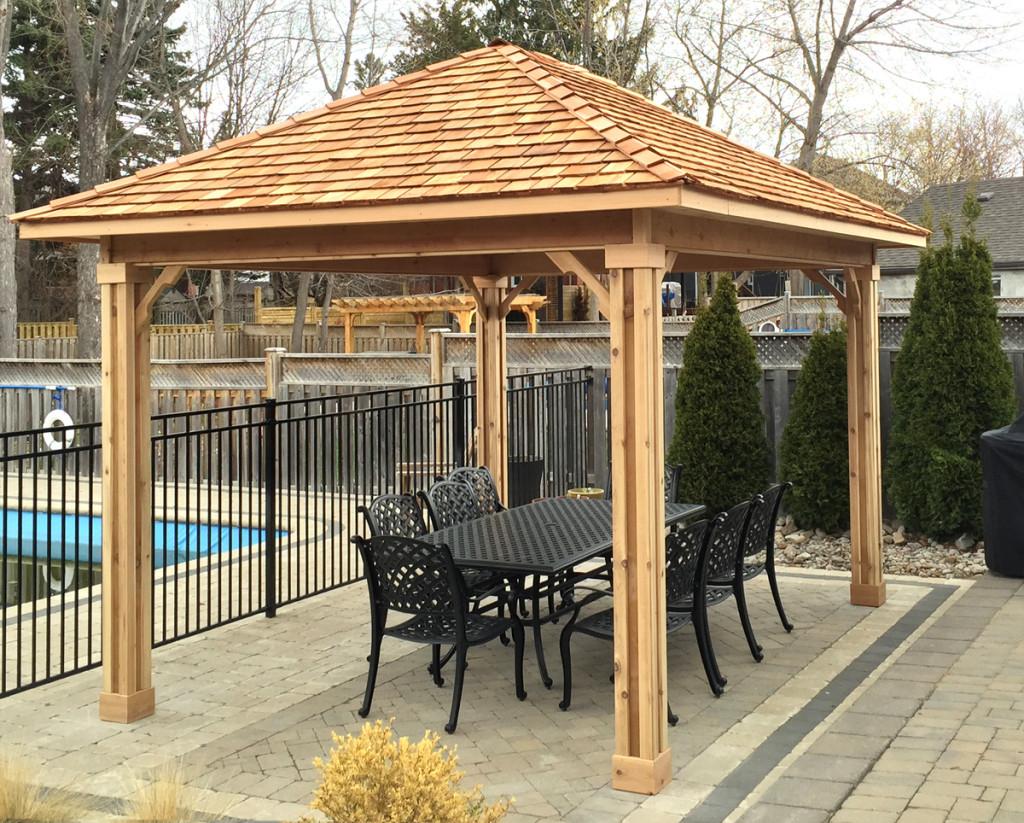 Gazebos And Pavilions Cedar Wood Structures